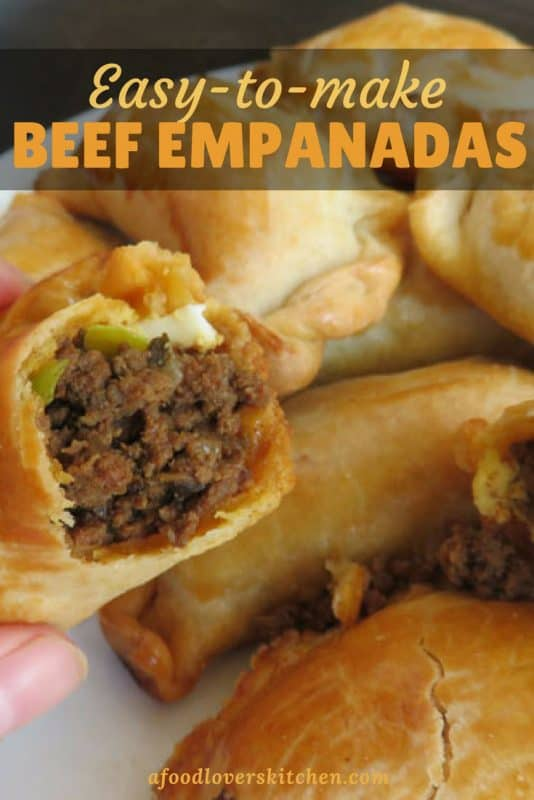 Easy to make empanadas can be filled with any ingredients you want for a quick and satisfying snack or meal