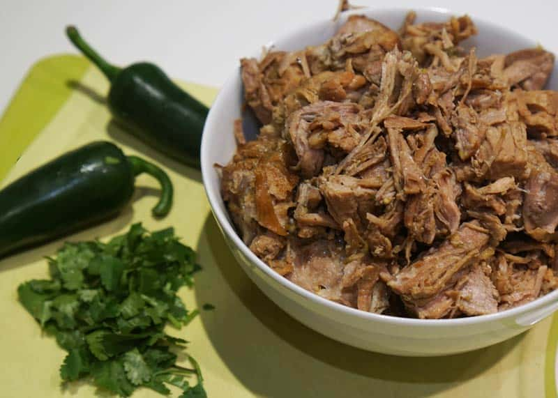 prepared carnitas (little meats)