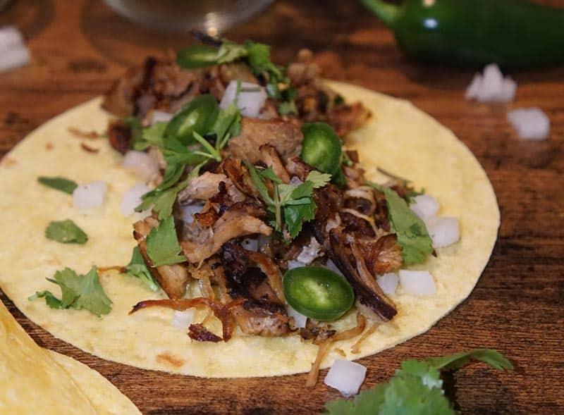 crispy carnitas tacos