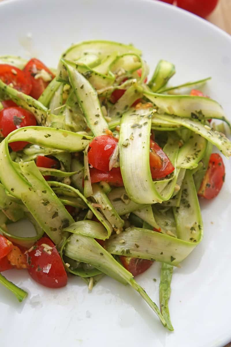 asparagus pesto salad