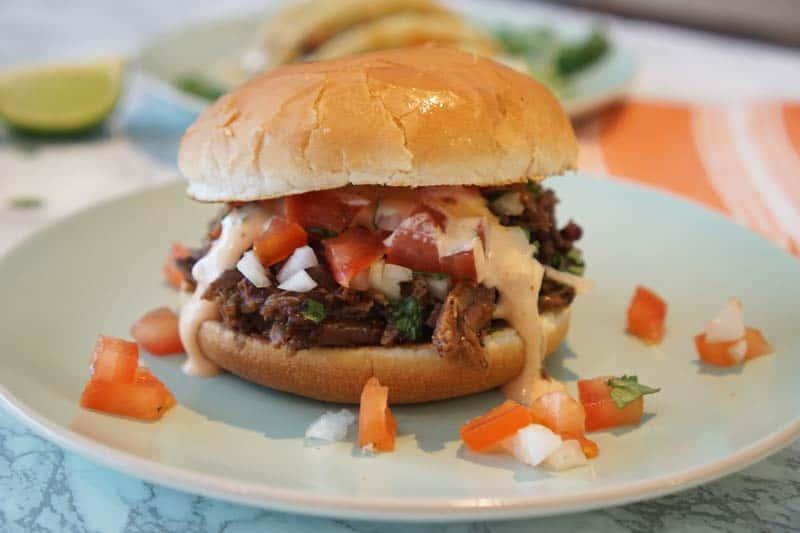 beef barbacoa burger