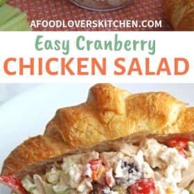 Easy Cranberry Chicken Salad recipe