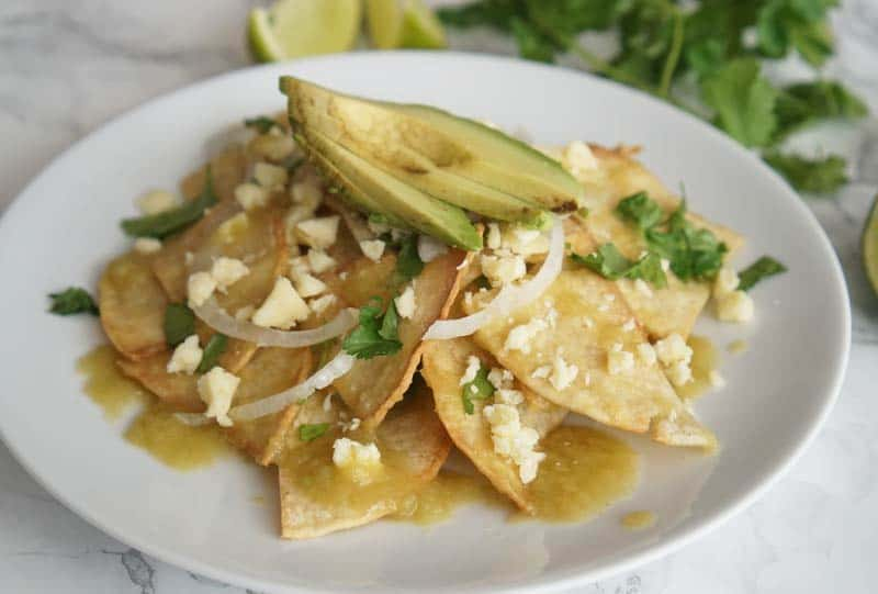 verde chilaquiles recipe