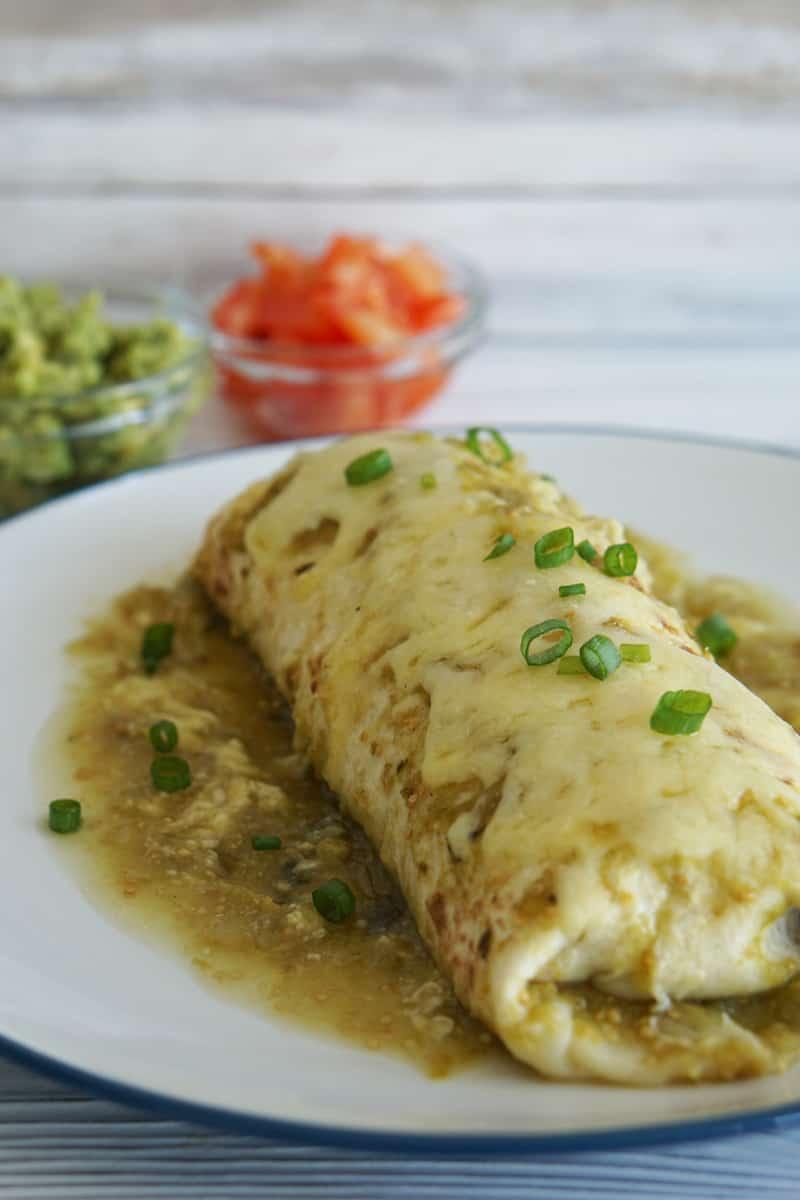 verde wet burrito