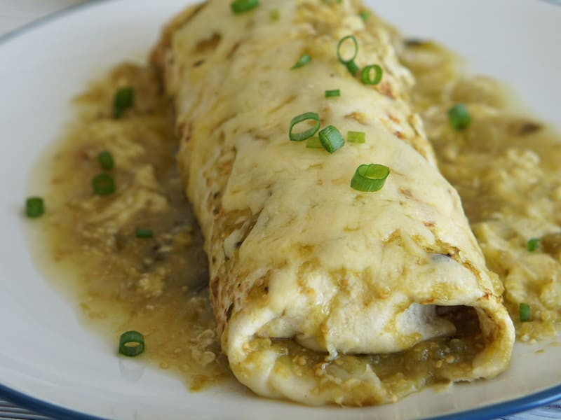 The Best Verde Wet Burrito Recipe