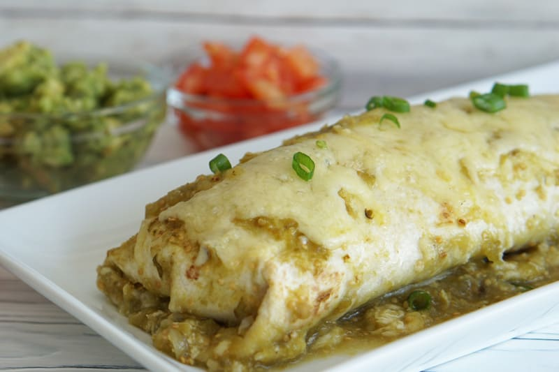 carnitas wet burrito