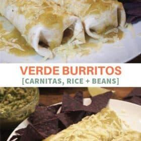 Mexican wet burrito