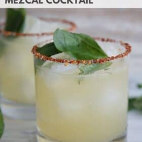 Smoky Mezcal Cocktail