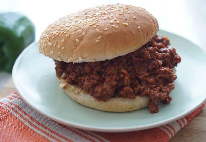 Easy Sloppy Joe Recipe (Better Than Manwich!)