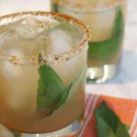 Oaxacan Mezcal cocktail
