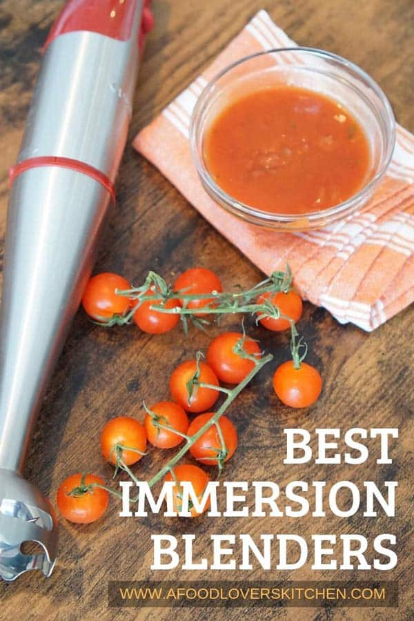 Best Immersion Blenders