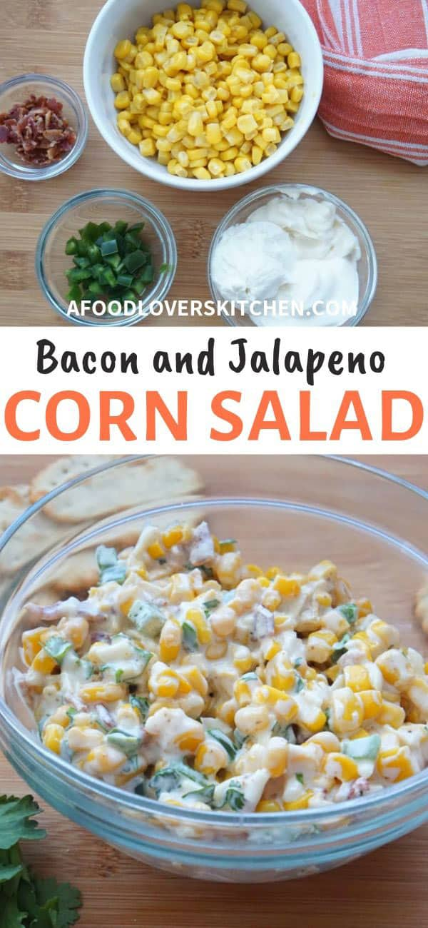 Bacon, Jalapeno and Corn Salad