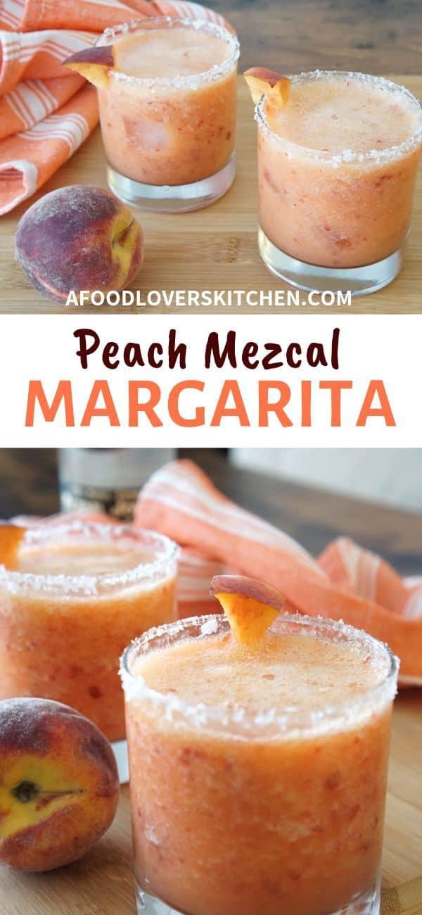 Peach Mezcal Margarita