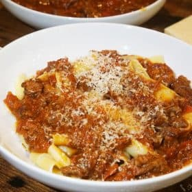 Beef Ragu with Papparedelle