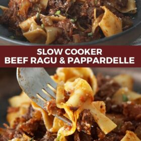 Beef Ragu with Pappardelle