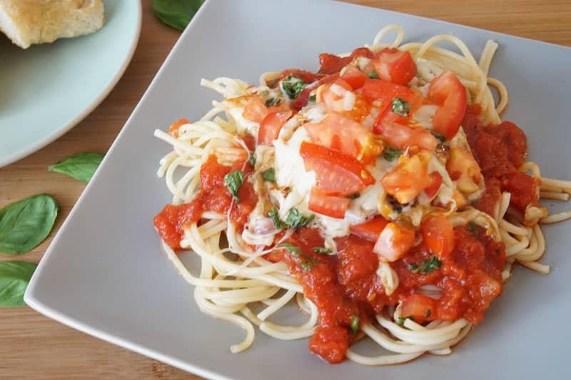 Chicken Caprese Pasta Recipe