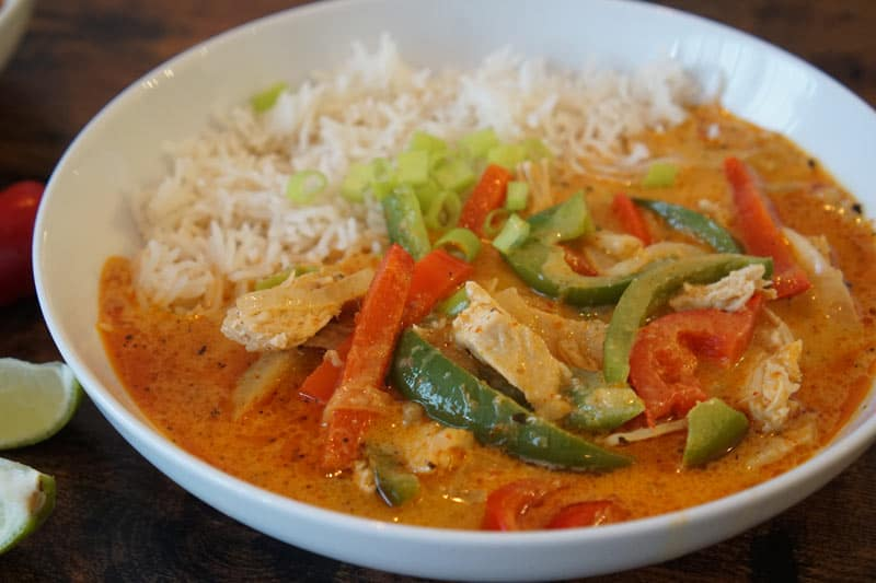Thai Panang Curry with chicken