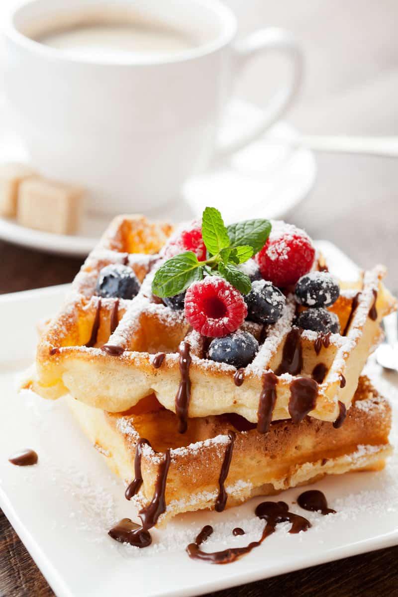 classic waffles recipe