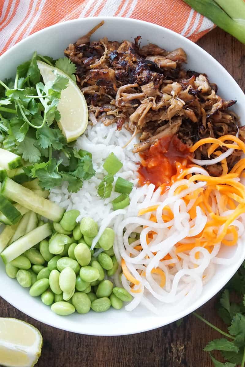 Vietnamese Pork Bowls