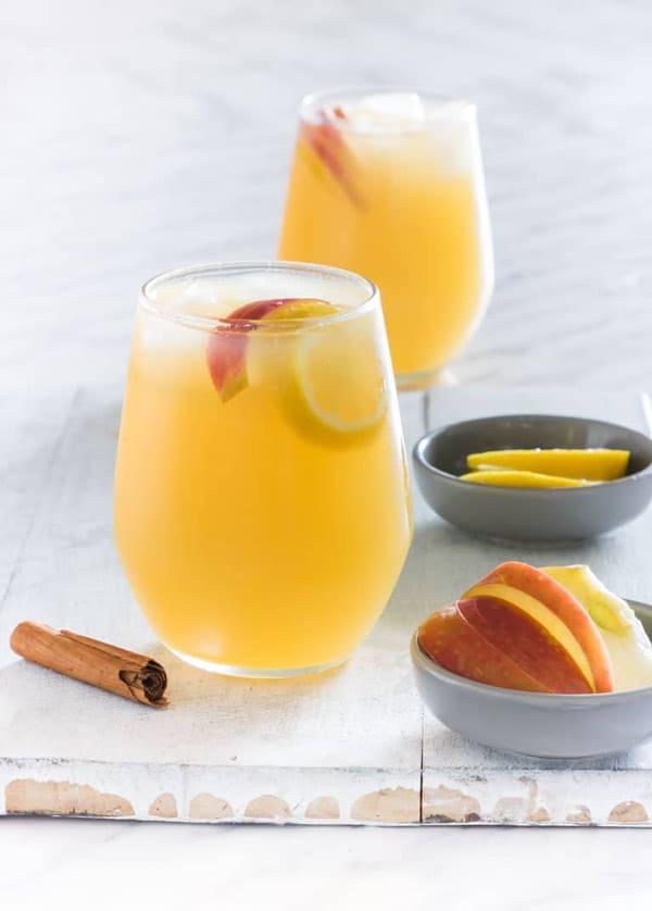 apple pie gin cocktail