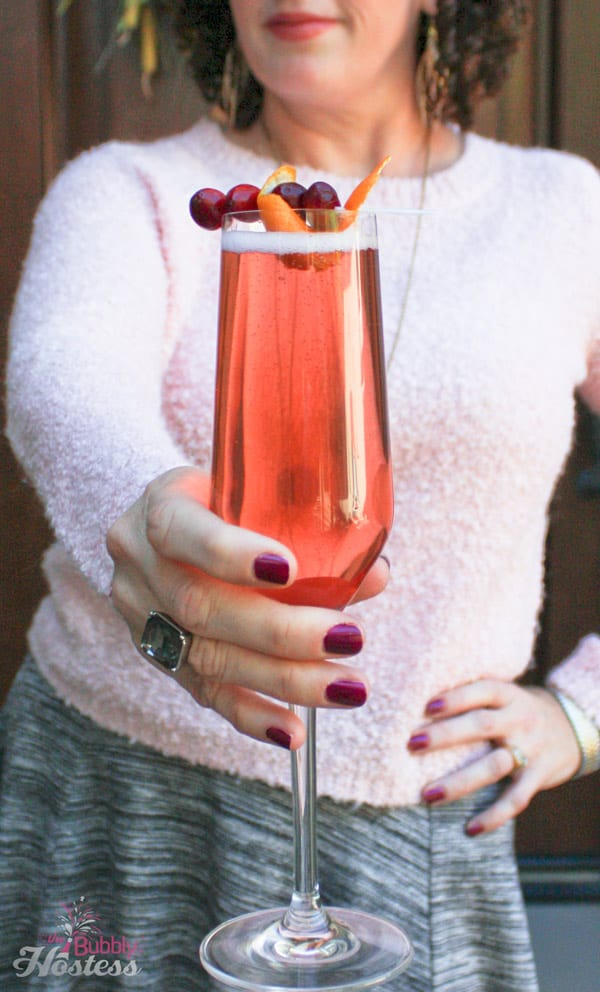 Cranberry Orange Bubblies