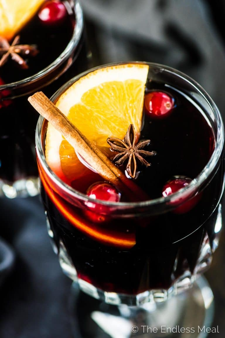 Brandy Mulled Wine