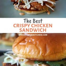 crispy chicken sandwich