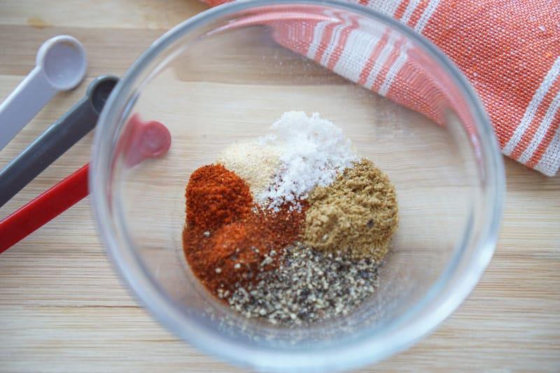 Spice seasoning mix