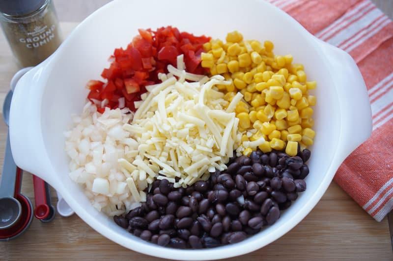 Eggroll ingredients