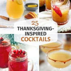 holiday cocktails