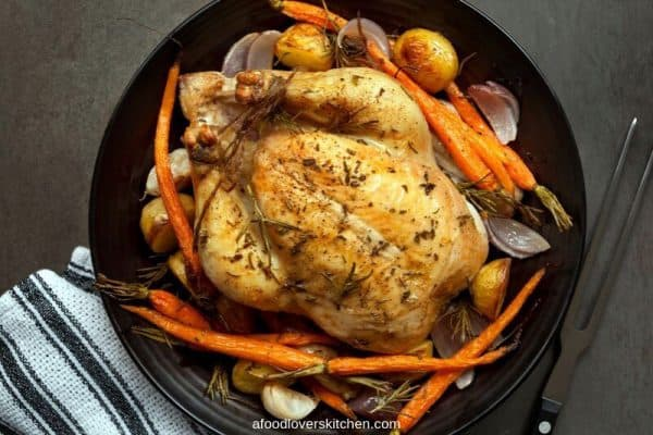 whole chicken in the instant pot
