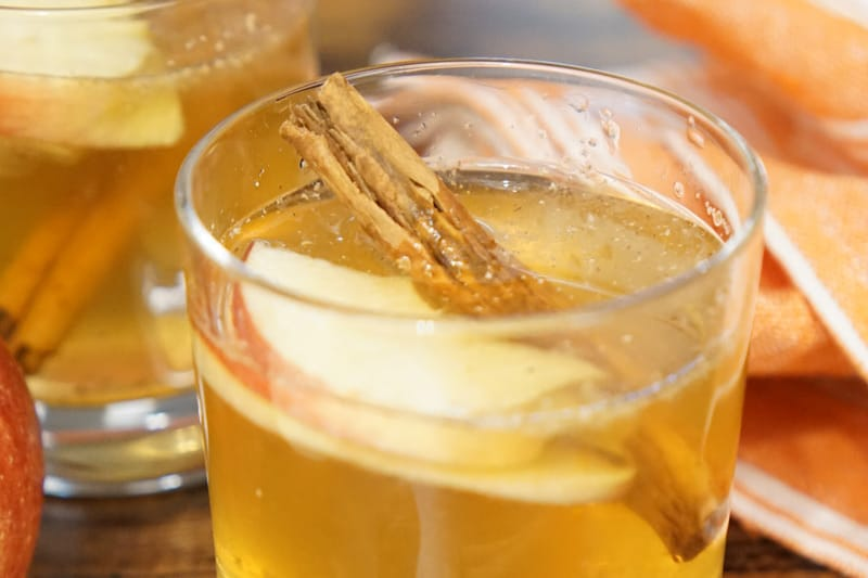 Cinnamon Apple Bourbon Smash
