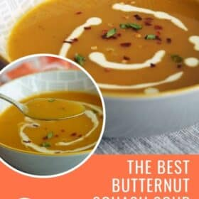 Silky Smooth Butternut Squash Soup