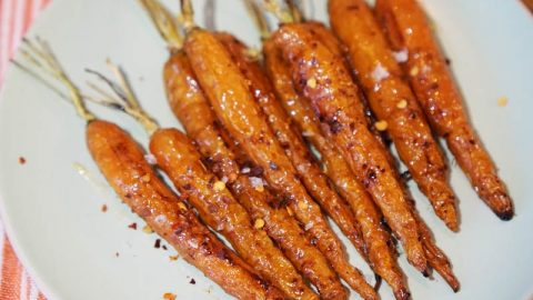 Miso-Glazed Roasted Carrots Page | A Food Lover's Kitchen