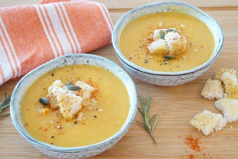 Butternut Squash Soup recipe for the Instant Pot