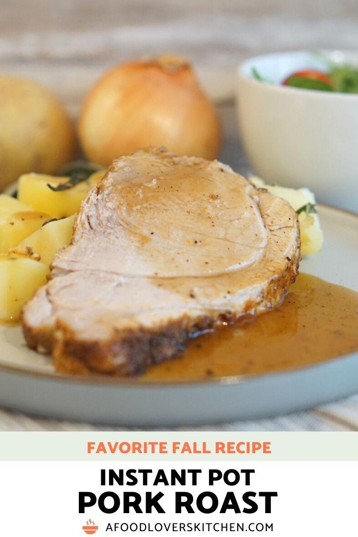 Instant Pot Pork Roast