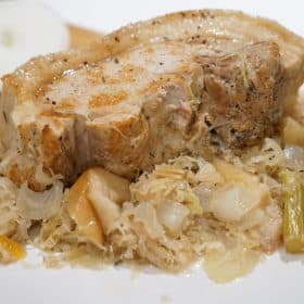 Instant Pot Pork & Sauerkraut recipe