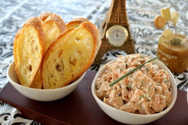 Le Bernardin's Salmon Rillettes