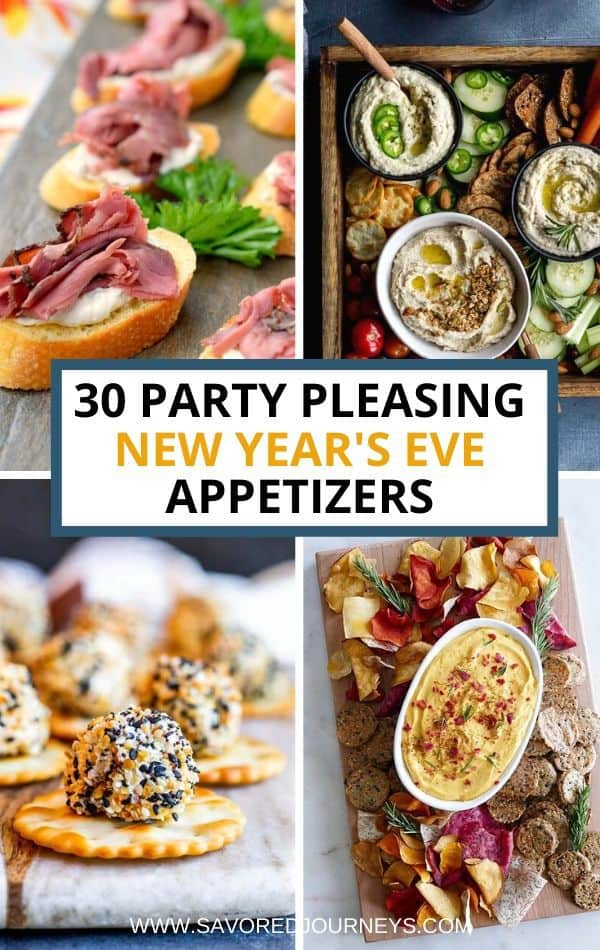 30 Super Tasty New Year's Eve Appetizers