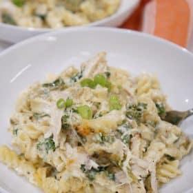 spinach artichoke dip casserole