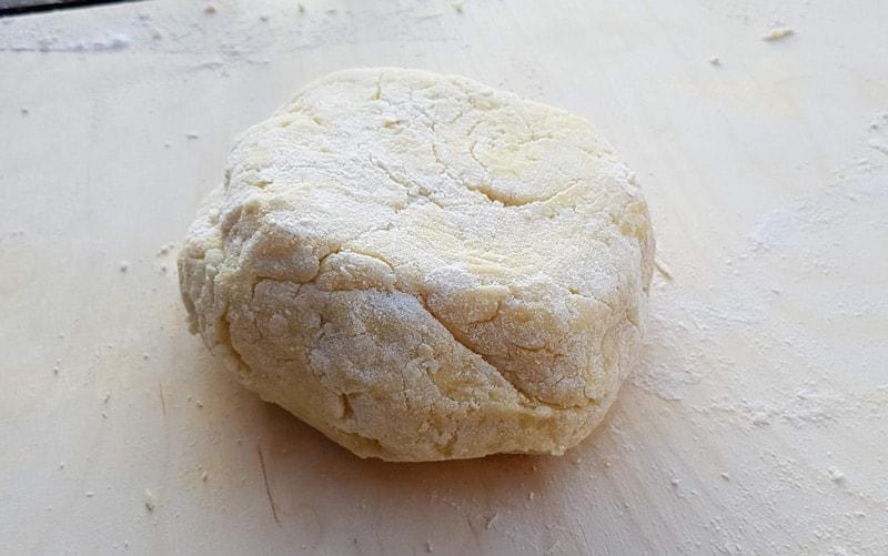 gnocchi dough ball