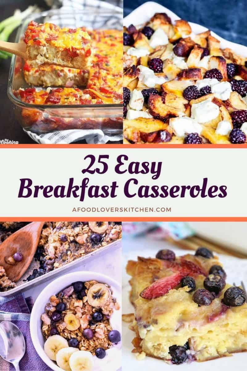 25 Easy Breakfast Casserole Recipes