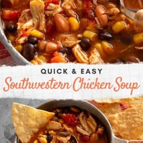 Southwester Chicken Soup