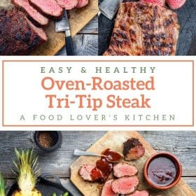 Oven-Roasted Tri Tip Steak