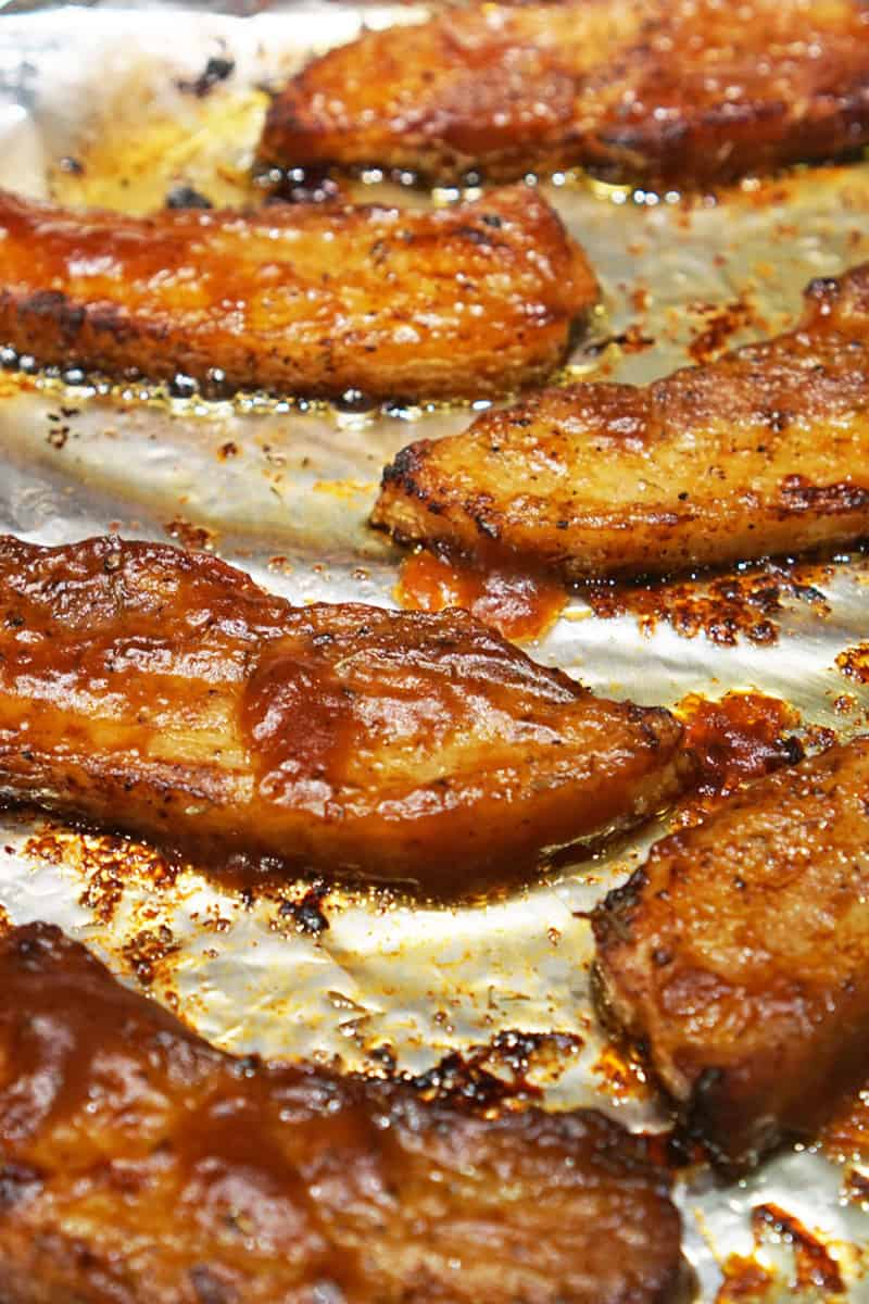 Bbq Pork Belly Slices Recipe A Food Lover S Kitchen