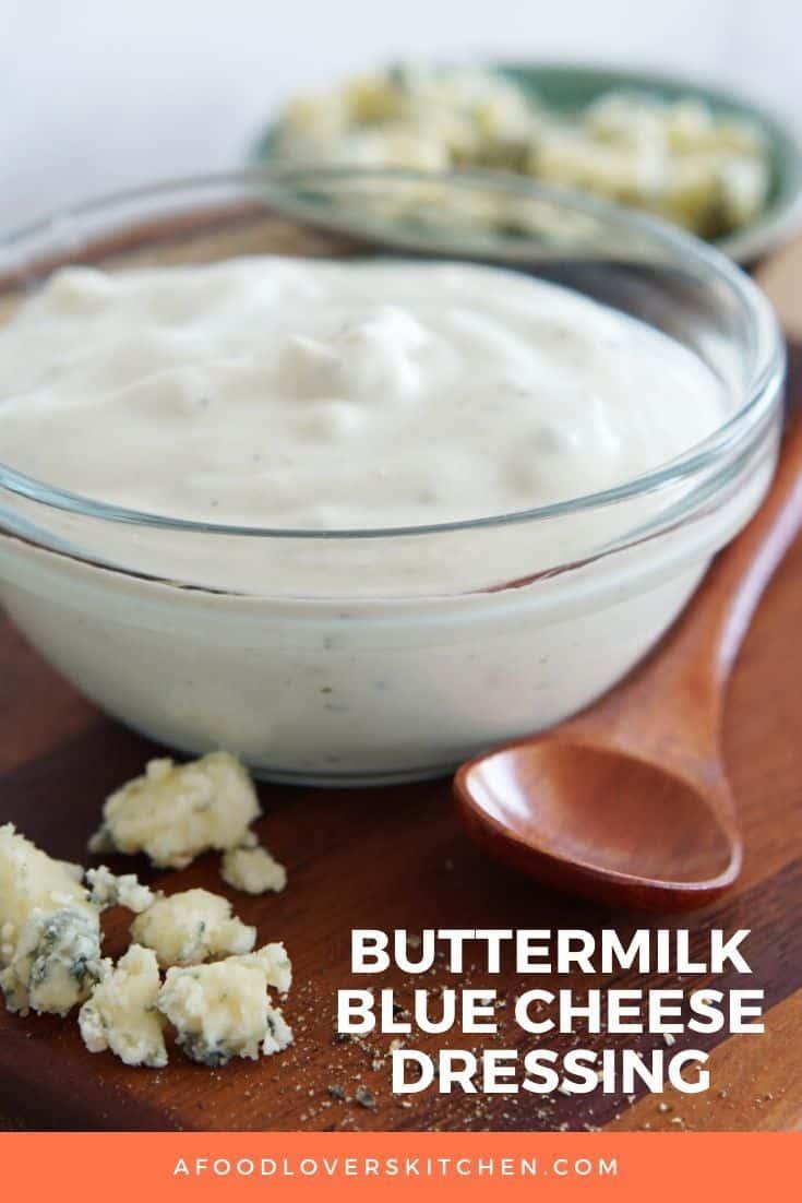 Homemade Buttermilk Blue Cheese Dressing