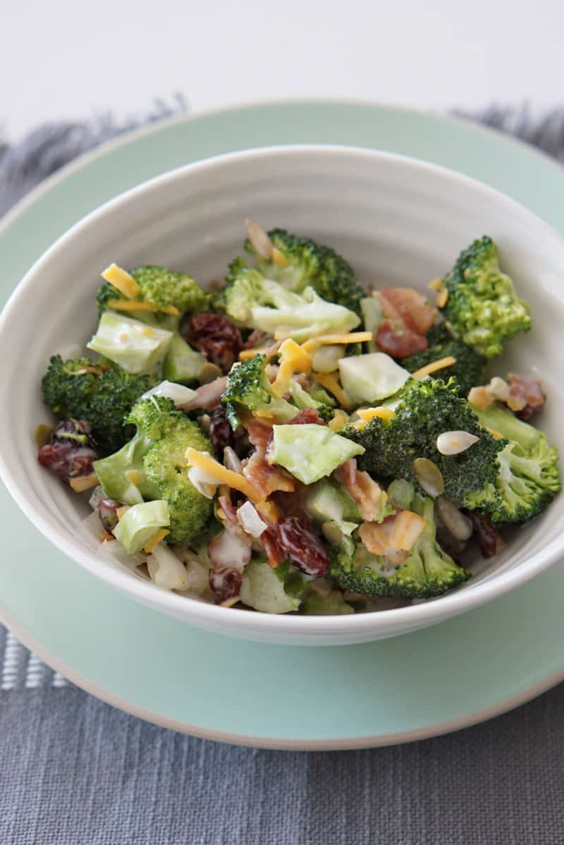 Everyone's Favorite Broccoli Salad