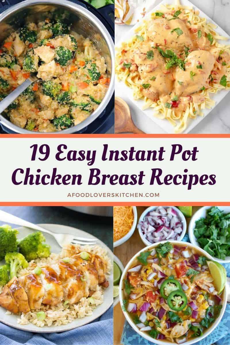 Instant Pot Chicken Breast Recipes