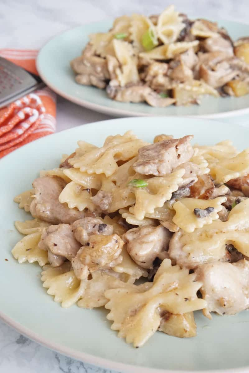 Chicken and Potato Pasta
