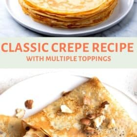 Classic Crepe Recipe
